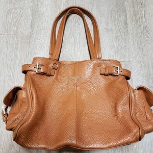 Prada brown  leather handbags